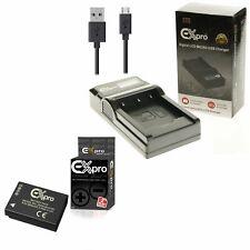 DMW-BCG10E Battery + USB Charger for P@ L@ DMC-TZ22 TZ25 TZ27 TZ28