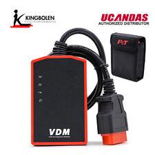 VDM UCANDAS WIFI Full System Automotive OBD2 Diagnostic Tool Newest Version 3.9