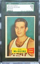 1957 TOPPS Dick McGuire Rc Rookie #16 SGC 7 NR MT