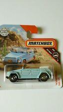 '74 Volkswagen 181 Matchbox 2019 Mattel Nuevo sin abrir