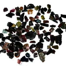 Natural Multi Tourmaline Rocks Mix Size & Shape Cabochon Loose Gemstone Lot 4_44