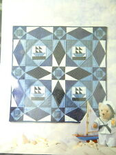 New Ships at Sea Quilt Pattern Calico Hills Farm 42 In 1984 Roxy Burgard Design