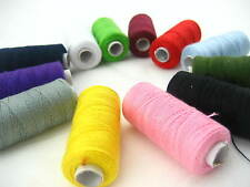 assorted Jeans shoes bags thread real strong thick Sewing thread Spools thread