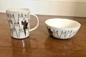 NWT Anthropologie Rhea Cat Mug or Bowl