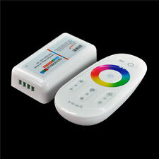 New 2.4G LED RGB Wireless RF Controller Touch Screen Dimmable Remote DC 12 - 24V