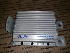 963702K000 2011 Kia Soul   8 Channel Amp  OEM Amplifier With Bracket