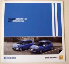 Renault Clio 2010 Car Sales Brochures