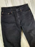 Vintage Levis 550 Black Relaxed Fit Jeans 36x30 Made in USA
