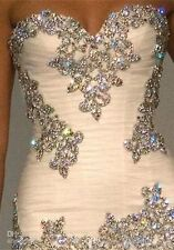 New Bling Crystal Mermaid Sweetheart Bead Shinny Rhinestone Custom Wedding Dress