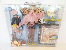 My Scene Masquerade Madness Barbie Doll Butterfly Punk & DVD 2004 6+ NMIB #C1240