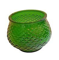 E.O.Brody G100 Fish Scale Pattern Green Decorative Glass
