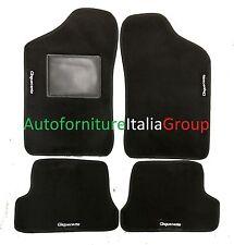 Antracite Auto Tappeti Ago Feltro 4tlg Tappetini FIAT CINQUECENTO 1991-1998