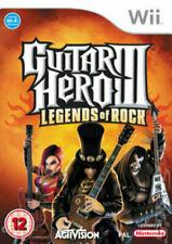 GUITAR HERO III LEGENDS OF ROCK NINTENDO WII UK PAL GAME *FAST P&P*