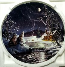 Singers At The Moon Spirits Sing In Tune A Hidden World Collector Plate Bradford
