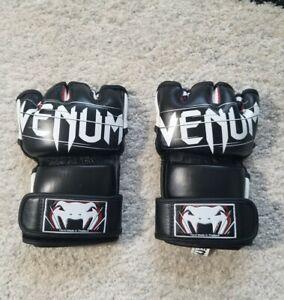 Venum Undisputed 2.0 MMA Training Gloves Napa Leather Hand-Made Sz M Brand New