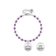 Kidult Bracciale Donna Collezione Symbols Corona Smalto 731837