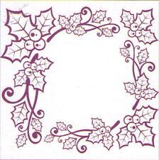 Prägeschablone Blumenmotive       CCC-4010 Prägefolder Embossing template