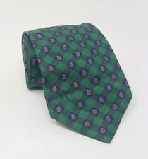 Cravatta valentino 100% pura seta tie silk original made in italy handmade