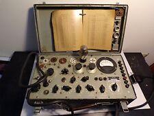 Hickok TV-7/U Tube Tester Working WWII/Korean War; May Need Calibrated