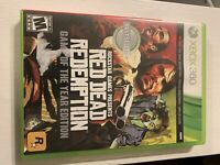 Red Dead Redemption Game Of The Year Xbox 360 COMPLETE