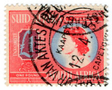 (I.B) South Africa Revenue : Duty Stamp £1