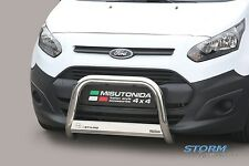 Ford Transit Connect 2014 on MACH EC Stainless Steel Front A-Bar Bull Bar - 63mm