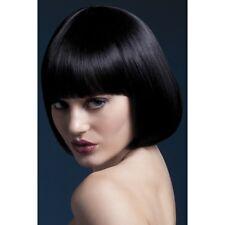 Fièvre de Sexy Mia Short femmes élégant modèle professionnel Déguisements perruque noire de Bob