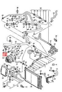 Genuine AUDI A4 Avant S4 Quattro Cabrio Coolant Hose 079121063G