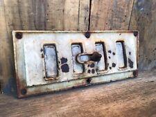 Rare Antique Cast Iron Heat Grate with Porcelain Coating ~ Antique Heat Grate