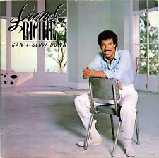 LIONEL RICHIE CAN'T SLOW DOWN 1983 LP MOTOWN 6059ML GATEFOLD COVER LYRIC SLEEVE