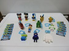 Disney Crossy Road Mystery Hangers - Complete set of 12 Series 1 - Pre-owned