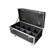 Indoor Led par light Flight Case with wheels Empty road case from US