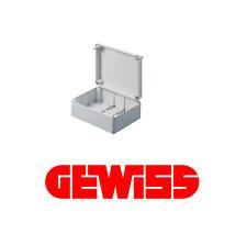 GEWISS GW 44208 CASSETTA DI DERIVAZIONE STAGNA LISCIA IP56 240X190X90