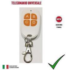 TELECOMANDO PER CANCELLO AUTOMATICO UNIVERSALE A 433,92 MHZ FAAC, BFT, NICE, ETC