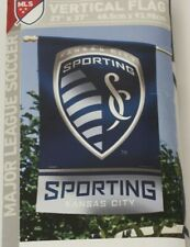 Kansas City Sporting Soccer Club Vertical Flag WinCraft New