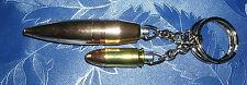 Schlüsselanhänger - DEKO Patrone -  50 BMG Geschoß + 9 mm Luger-US Army