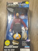 playmates star trek Starfleet edition riker 9 inch figure new