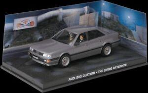 JAMES BOND 007 film models THE LIVING DAYLIGHTS Lada 1500 Land Rover Audi 200