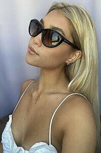 Tom Ford 59mm Black Cats Eye Women's Sunglasses T1