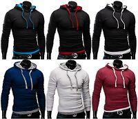 MERISH Kapuzen Pullover Pulli Herren Hemd Jacke Sweatshirt T-Shirt Hoodie NEU 06