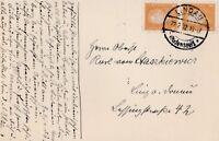 Postkarte verschickt von Lindau nach Linz aus dem Jahr 1932 an einen Oberst