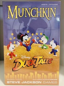 Munchkin Disney DuckTales Card Game Steve Jackson NEW FACTORY SEALED