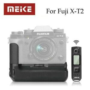 Meike MK-XT2 Pro Battery Grip with 2.4G Wireless Remote for Fuji X-T2 as VPB-XT2