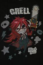 Black Butler Grell Womens Jrs T Shirt Small Japanese Anime Manga