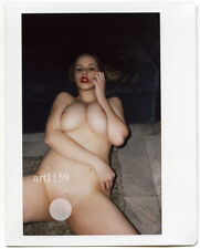 prm255 Original Fuji Wide POLAROID Rare Akt Nude ART Photo Naked Girl art1159