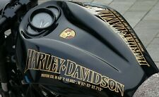 V-rod Harley Davidson Night Rod Air Box Fuel Tank Decals Stickers Gadget