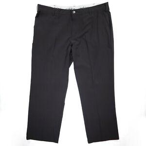 Adidas Mens Golf Pants Stretch Waist Size 40x30 - Classic Ultimate 365 - Black