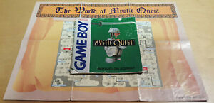 MYSTIC QUEST for NINTENDO GAME BOY *INSTRUCTION MANUAL & MAP ONLY*