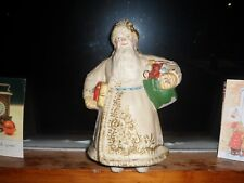 ANTIQUE NORTH-EAST EUROPEAN SANTA CLAUS. VERY OLD, LARGE AND SELF STANDING.