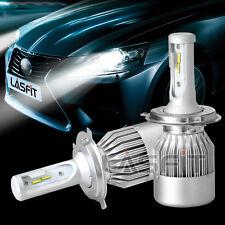 9003 H4 HB2 LED Headlight Kit High Low Beam 6000K 72W Replace Halogen Bulb Kit